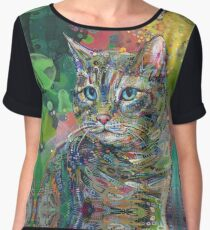 Cat painting - 2011 Chiffon Top