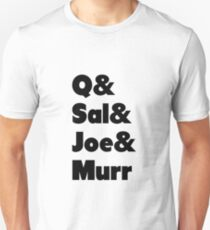 Impractical Jokers Line-Up (Font 1) Unisex T-Shirt