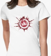 KOTK Crown Womens Fitted T-Shirt
