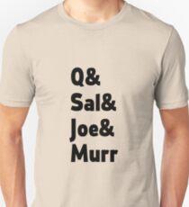 Impractical Jokers Line-Up (Font 2) T-Shirt