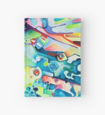 Parts of Reality Were Missing, But Which Parts? - Watercolor Painting Hardcover Journal
