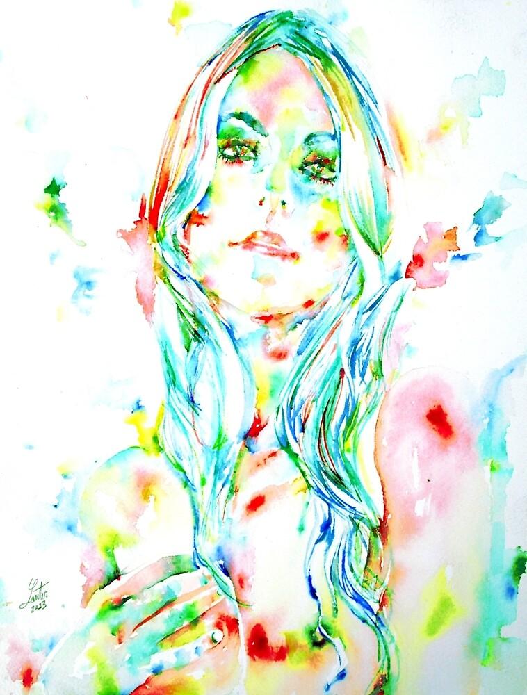 WATERCOLOR WOMAN.1 by lautir