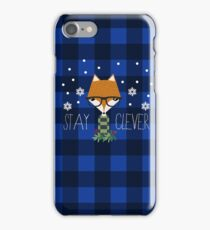 Stay Clever Winter Fox iPhone Case/Skin