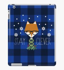 Stay Clever Winter Fox iPad Case/Skin