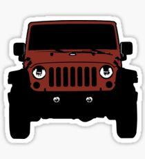 Jeep JK - Red Rock Sticker
