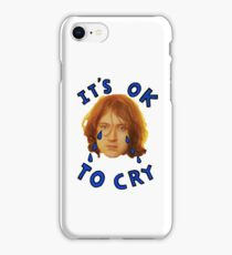 Its ok to cry kevin sheilds  iPhone Case/Skin