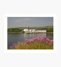 Islay Distillery Art Print
