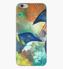 Ravens in the Garden iPhone Case