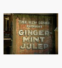 Ginger-Mint Julep Photographic Print