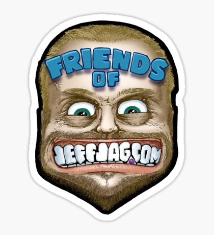 Friends of JeffJag.com - 2011 Edition Sticker
