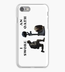 Soldier's Cross iPhone Case/Skin