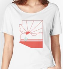 Arizona Pride - Sonoran Sunset  Women's Relaxed Fit T-Shirt