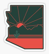 Arizona Pride - Sonoran Sunset  Sticker
