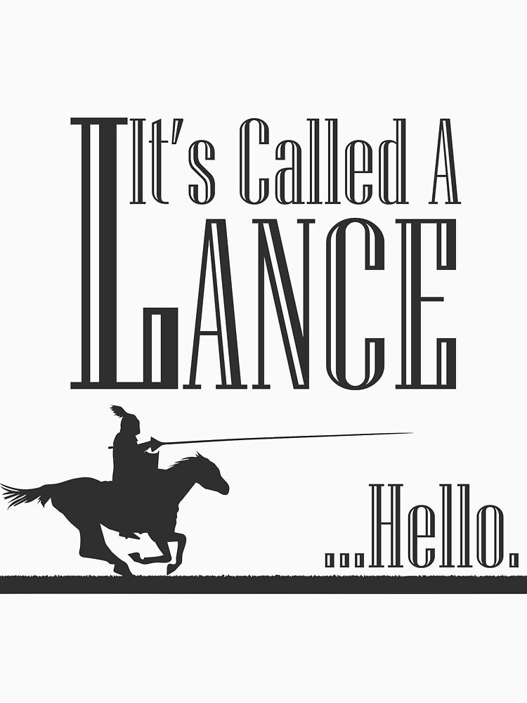 A Knight's Tale Lance Joust de masheen3