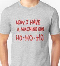 Die Hard Now I Have a Machine Gun T-Shirt