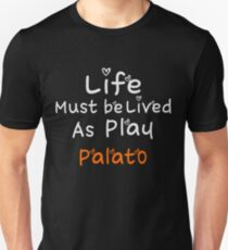 ╚»★Plato's Motivational Quote Clothing & Stickers & Cases & Tote Bags & Home Decor & Stationary★«╝ Unisex T-Shirt