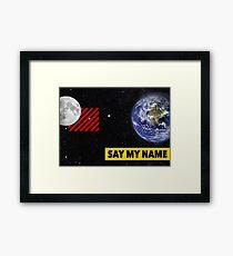 UNIVERSAL LANGUAGE Framed Print