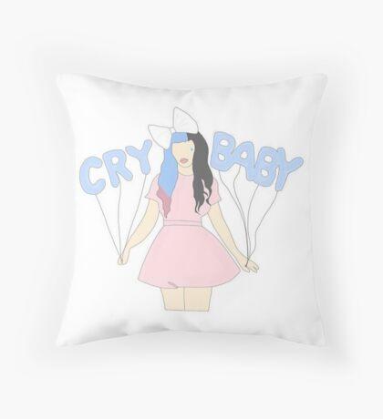 Crybaby minimalist Throw Pillow