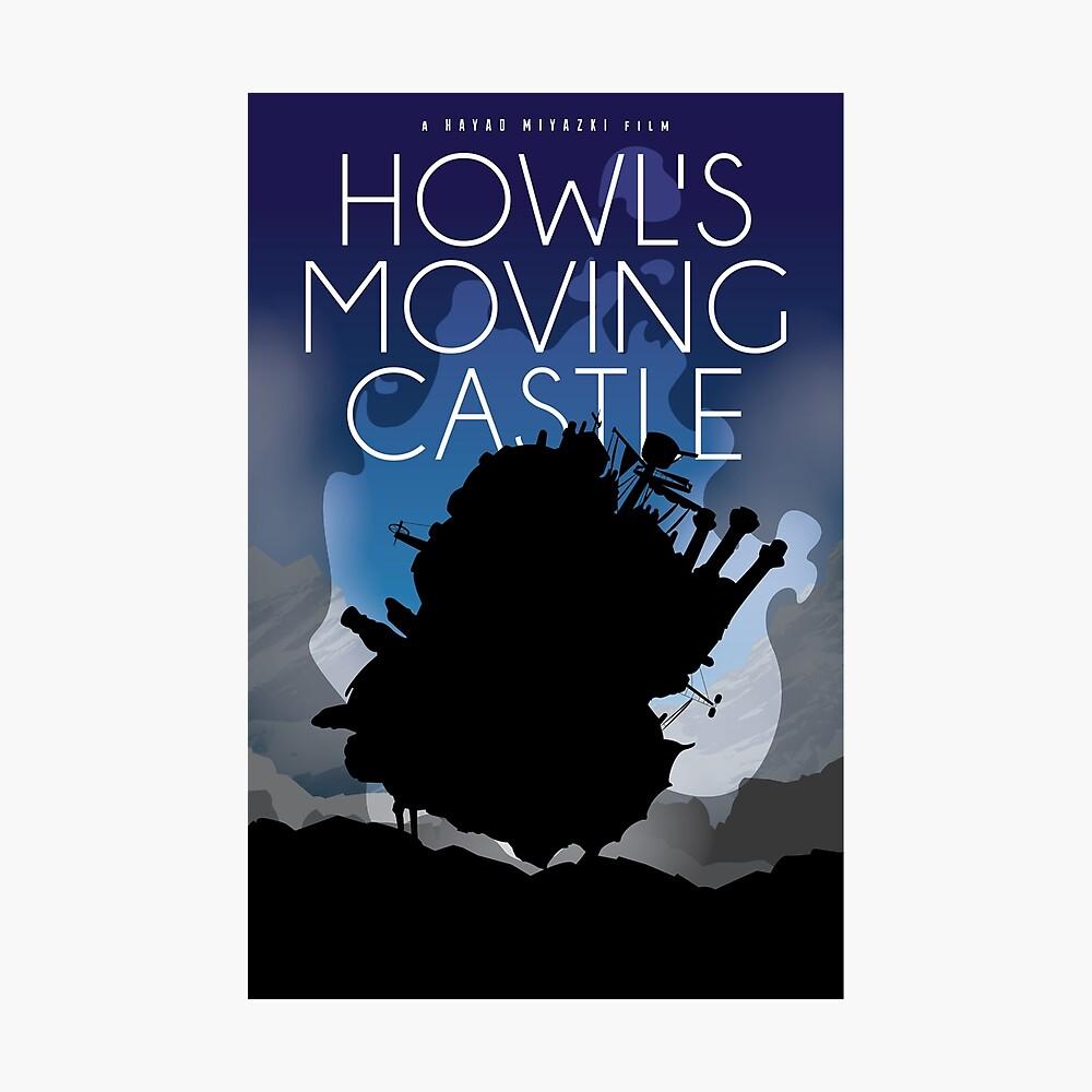 Howl's Moving Castle Lámina fotográfica