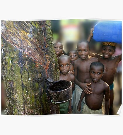 Children of the Rubber Forest Poster