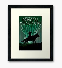 Princess Mononoke Movie Poster Framed Print