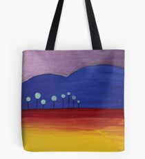 REDREAMING AT THE EDGE OF THE FOREST. Tote Bag