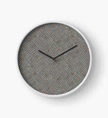 Dirty Metal Clock