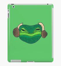 Leia Frog iPad Case/Skin