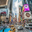 Times Square Traffic by Ray Warren