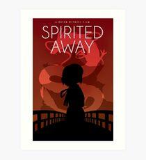 Spirited Away Movie Poster Art Print