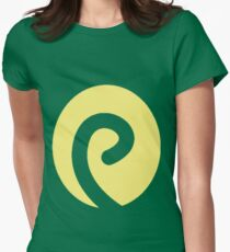 Politoed Swirl Womens Fitted T-Shirt