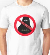 No Sharia! Not Here! Unisex T-Shirt