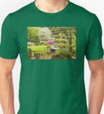 Asticou Azelea Garden Mount Desert Island Maine Unisex T-Shirt