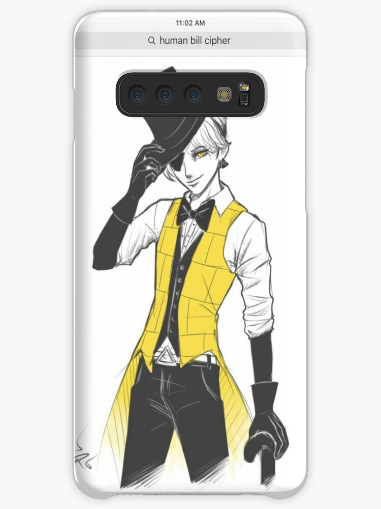 'Screenshot of Human Bill Cipher from Gravity falls ' Case/Skin for Samsung  Galaxy by Doom2345