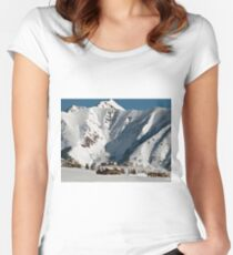 Lost in Winter Women's Fitted Scoop T-Shirt