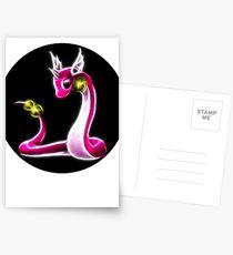 Pink Dragonair Pokemon Postcards