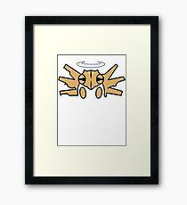 Shedija Pokemon Framed Print