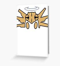 Shedija Pokemon Greeting Card