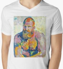 Naughty Boy - Fire Island Van Gogh by Riccoboni T-Shirt
