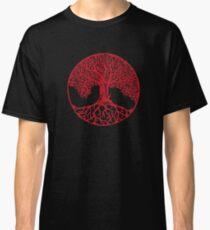 Yggdrasil Kamon /RED Classic T-Shirt