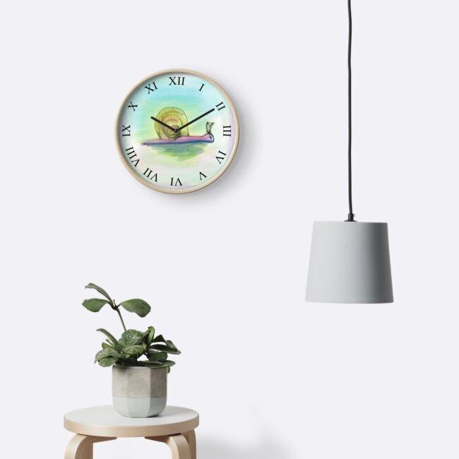 Snail Clock by petejsmith