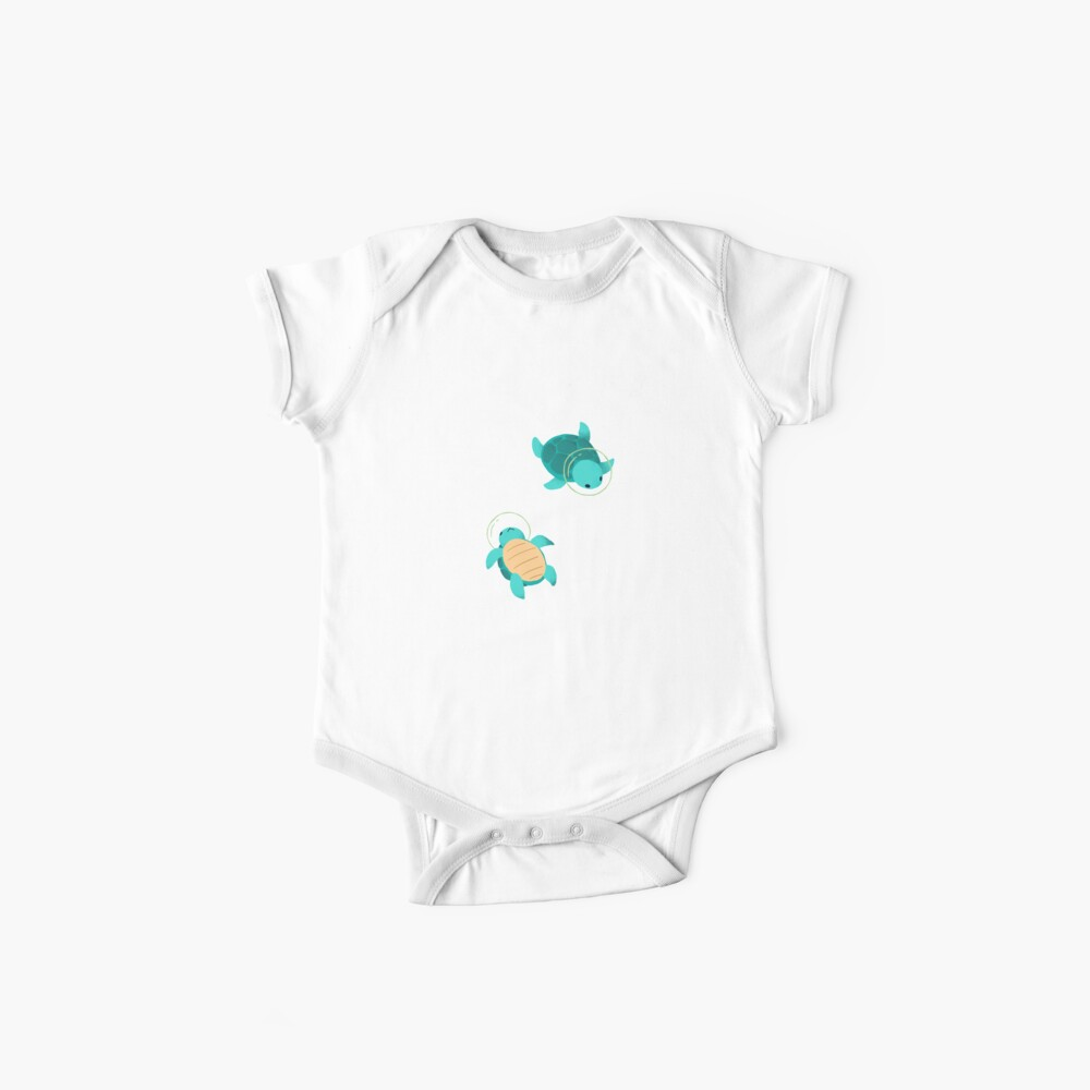 Space Turtles Baby One-Pieces