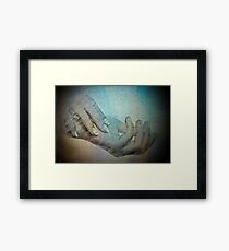Hands that do dishes Framed Print