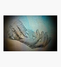 Hands that do dishes Photographic Print