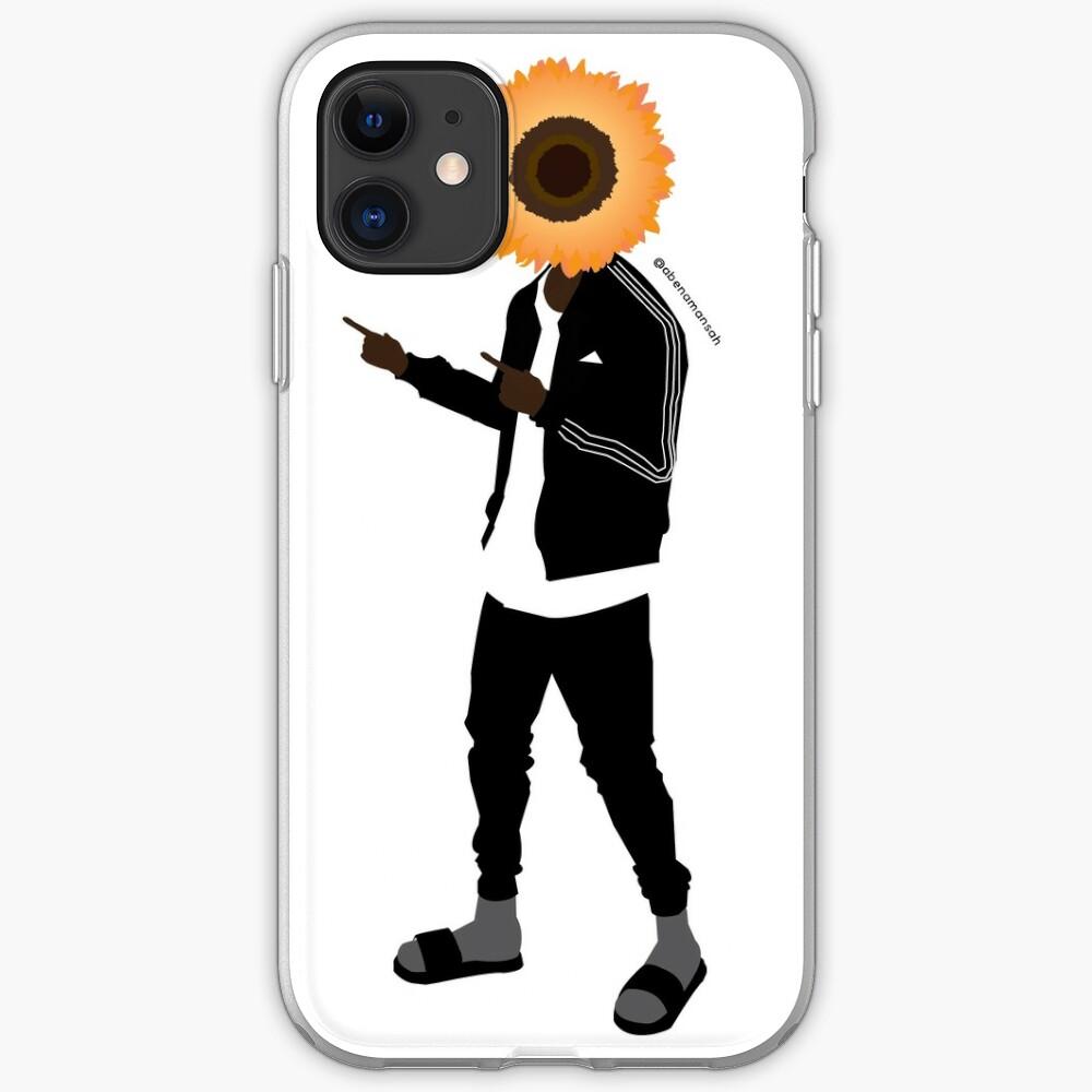 Helianthus - Male iPhone Soft Case