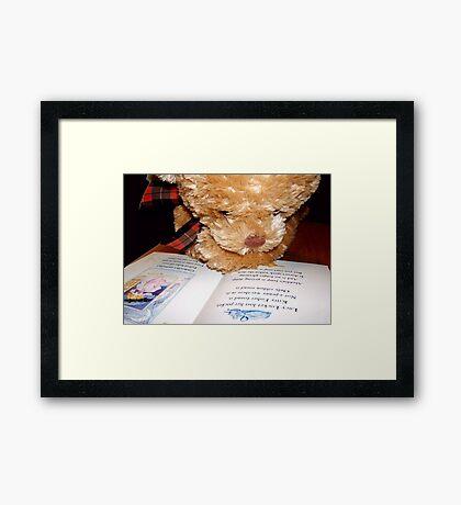 It's Lucy Locket © Framed Print