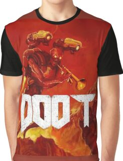 """The Doom cover but with """"doot"""" Graphic T-Shirt"""