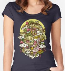 Midnight Hunger Women's Fitted Scoop T-Shirt