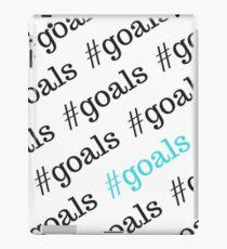 #goals iPad Case/Skin
