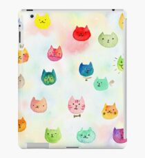 Cat confetti iPad Case/Skin